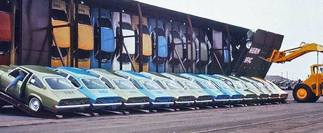 Cum isi transporta General Motors masinile in anii '70