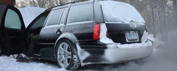 Cum (nu) porneste un Volkswagen TDI la -28 de grade