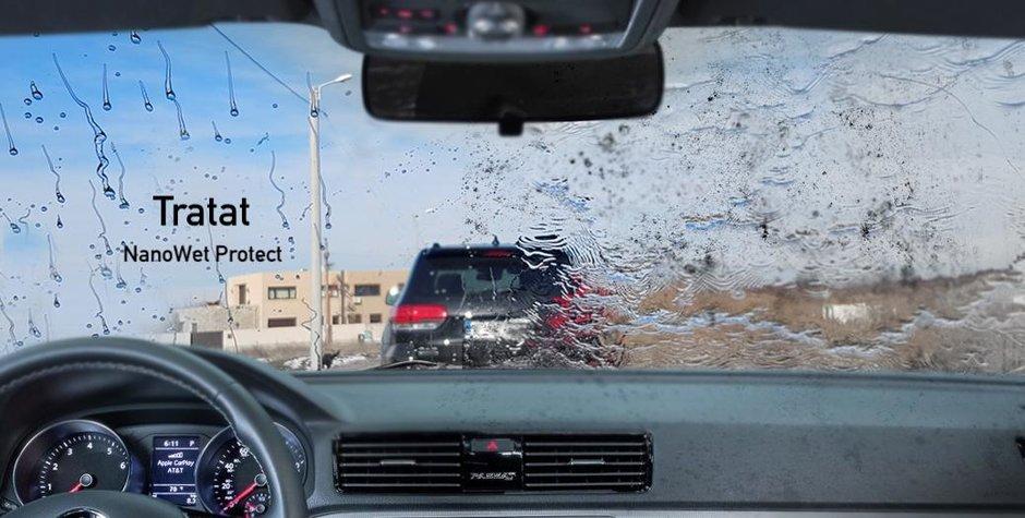 Cum poate un simplu servetel din buzunar sa-ti redea vizibilitatea masinii si sa te scape de ploaie?