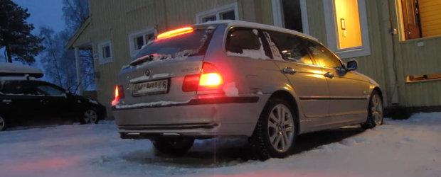 Cum porneste un BMW diesel din 2001 cand afara sunt -30 de grade?