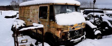 Cum porneste un Mercedes-Benz diesel dupa ce a stat parasit 12 ani