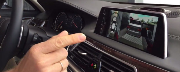 Cum pot fi controlate functiile noului BMW Seria 7 prin intermediul gesturilor