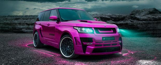 Cum poti ruina un Range Rover - versiunea Hamann