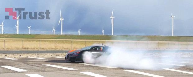 Cum sa arunci 42.000 dolari pe fereastra: Cerculete cu un Bugatti de 1200 CP