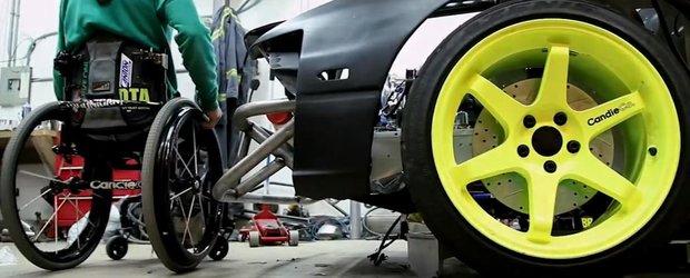 Cum sa construiesti o masina de drift cand esti in scaunul cu rotile