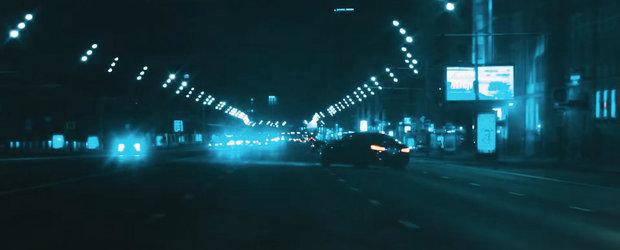 Cum sa dai de-a latu' un BMW M5 in plin trafic