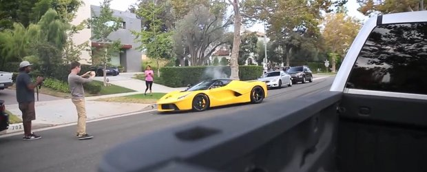 Cum sa distrugi un Ferrari LaFerrari. Sau cum e sa fii bogat si prost.