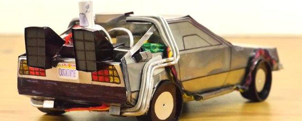 Cum sa faci un DeLorean dintr-o cutie de Pepsi