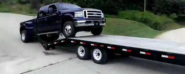 Cum sa NU incarci o camioneta intr-un trailer