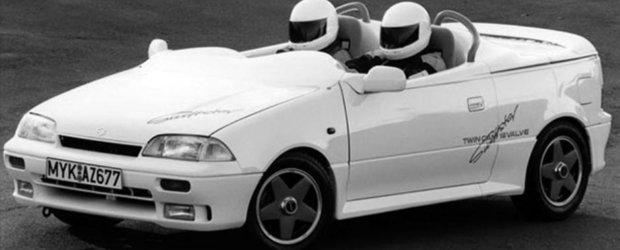 Cum sa nu iubesti anii '90? Doar pe-atunci puteai cumpara un Suzuki fara plafon si parbriz
