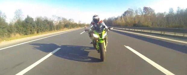 Cum sa NU mergi cu motocicleta in gasca