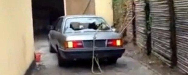Cum sa nu scoti buturuga cu un BMW