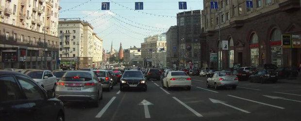 Cum sa scapi de aglomeratia din trafic - metoda ruseasca