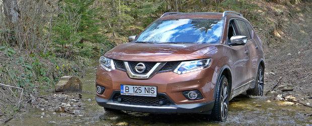 Cum sa te bucuri de frumusetile Romaniei la volanul unui 4x4: Nissan X-Trail