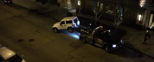 Cum scapa un sofer de hingherii de masini, varianta americana