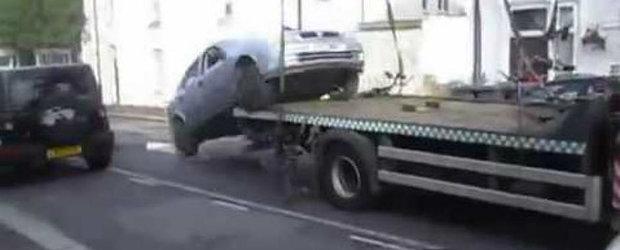 Cum scapi de ridicatul masinii si plata amenzii pentru parcare ilegala?