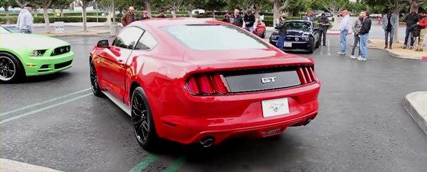 Cum se aude noul Ford Mustang in versiunea GT V8