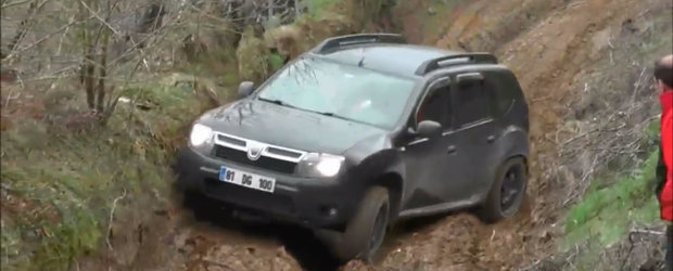 Cum se descurca Dacia Duster pe un traseu de off-road
