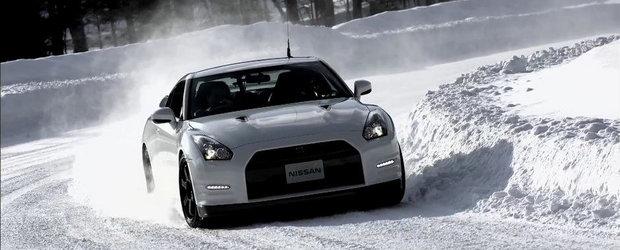 Cum se descurca in zapada supercarul japonez Nissan GT-R
