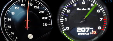 Cum se descurca un Seria 7 cu motor V12 impotriva unui Panamera hibrid. Uite aici lupta pana la 290 de km/h
