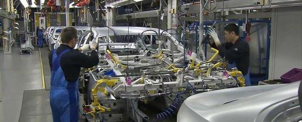 Cum se fabrica un BMW: roboti, tehnologie si cativa oameni