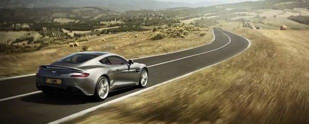 Cum se marketeaza noul Aston Martin Vanquish: in spatele scenei