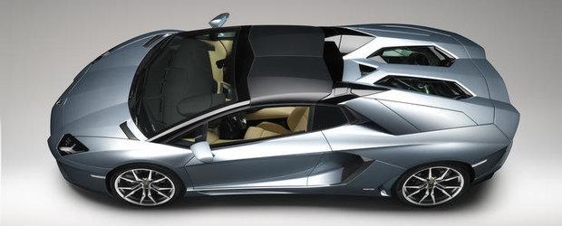 Cum se monteaza plafonul retractabil al noului Lamborghini Aventador Roadster