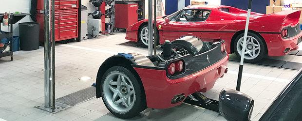 Cum se schimba ambreiajul unui Ferrari F50? VIDEO cu cel mai tare schimb de ambreiaj de pe internet