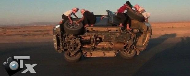 Cum se schimba o roata la masina - versiunea araba