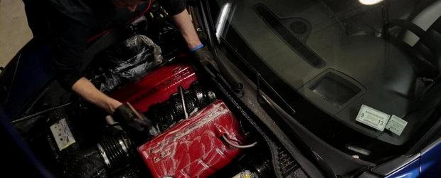 Cum se spala corect motorul unei masini