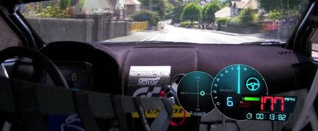 Cum se vede de la bordul unui Subaru de 600 CP recordul celui mai periculos circuit stradal din lume