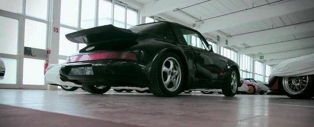 Cum si-a pacalit Porsche rivalii cu un Boxster 'ascuns' in haine de 964 Turbo