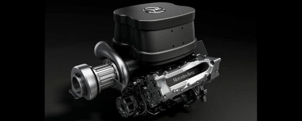 Cum suna noul motor V6 turbo de Formula 1