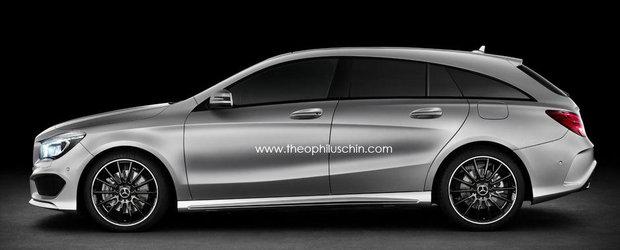Cum ti se pare ideea unui Mercedes CLA Shooting Brake?