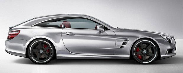 Cum ti se pare ideea unui Mercedes SL Shooting Brake?