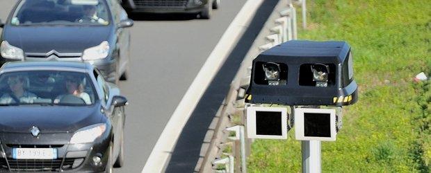 Cum vezi in Romania un sistem de radar care calculeaza viteza medie a masinii?