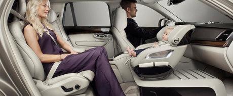 Cum vrea Volvo sa reinventeze transportul copiilor in masina