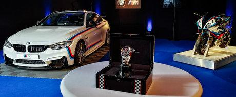 Cumperi acest BMW M4 si primesti gratis...o motocicleta si un ceas