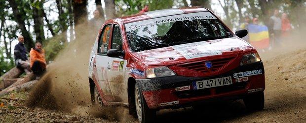 Cupa Dacia isi organizeaza podiumul la Raliul Iasiului