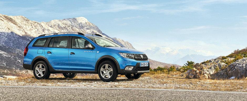 Curand si in Romania. Pana atunci, uite cat costa 'afara' noua Dacia Logan MCV Stepway