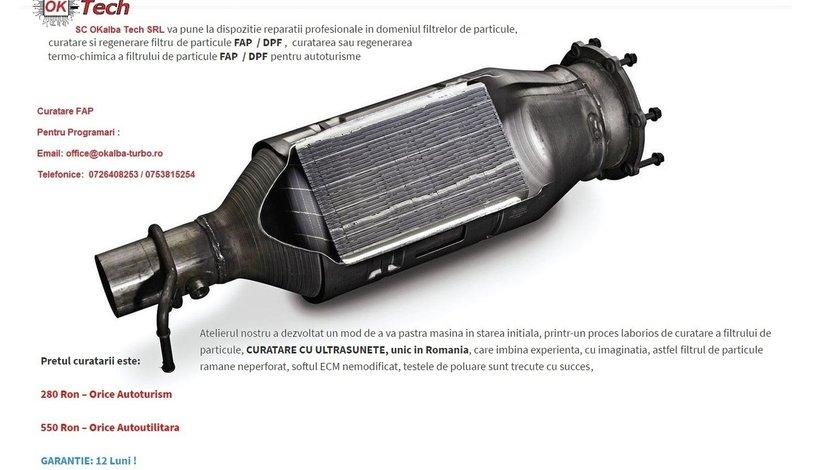 CURATARE, regenerare filtru particule , FAP / DPF