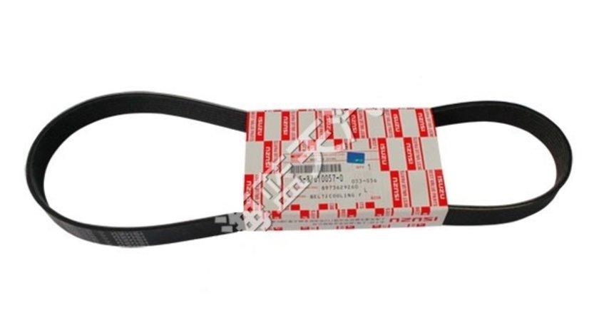 Curea alternator OE Isuzu 7PK990 pentru Isuzu D-Max 2.5 DiTD , 3.0 D cu caneluri pentru transmisie Kft Auto