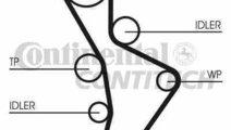 Curea de distributie AUDI A6 (4F2, C6) CONTITECH C...