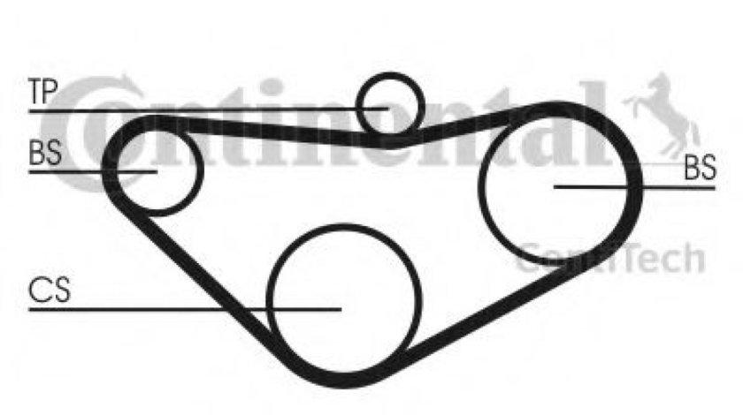 Curea de distributie HONDA ACCORD VI Hatchback (CH) (1999 - 2002) CONTITECH CT800 piesa NOUA