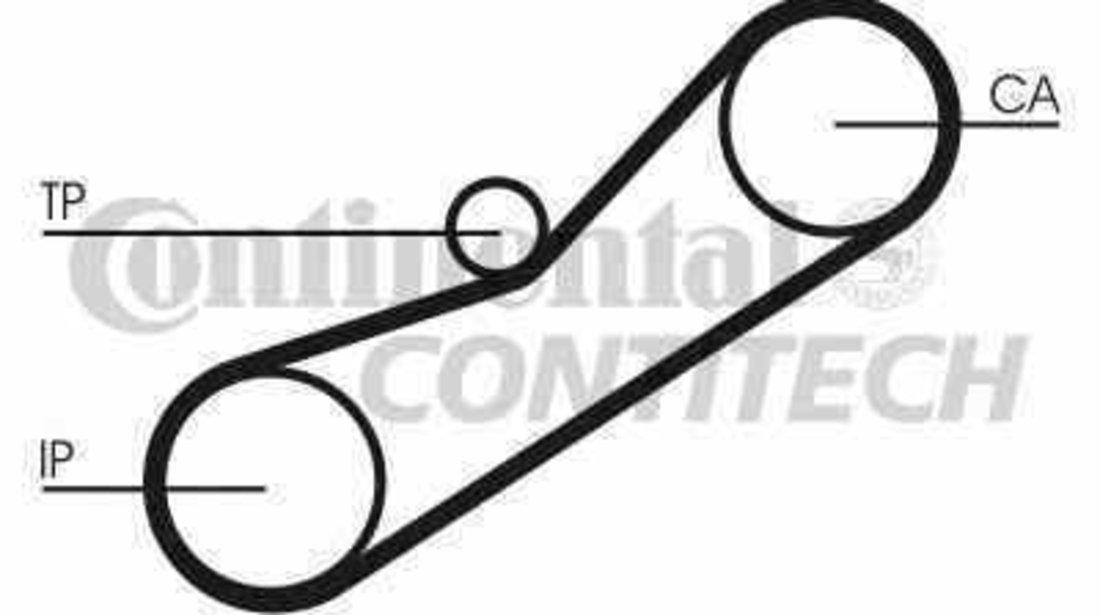 Curea de distributie HONDA CIVIC VI Hatchback EJ EK CONTITECH CT950