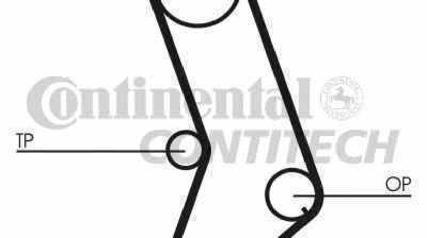 Curea de distributie LANCIA DELTA I 831AB0 CONTITECH CT647