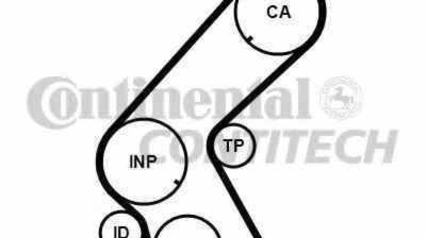Curea de distributie OPEL CORSA C caroserie F08 W5L CONTITECH CT1014