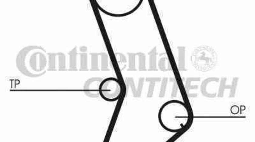 Curea de distributie RENAULT FUEGO 136 CONTITECH CT647