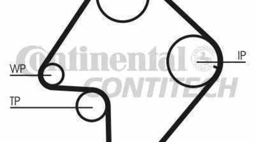 Curea de distributie SUZUKI GRAND VITARA I FT GT CONTITECH CT832
