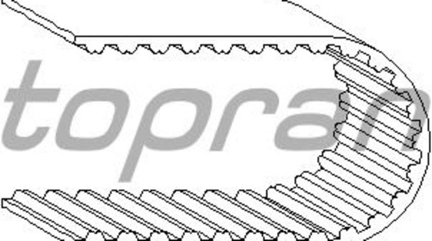 Curea distributie Audi 80/100 A6 Vw Golf 3 Passat 1990-1997 Sharan 2.0 litri 037109119C 124 dinti , Topran